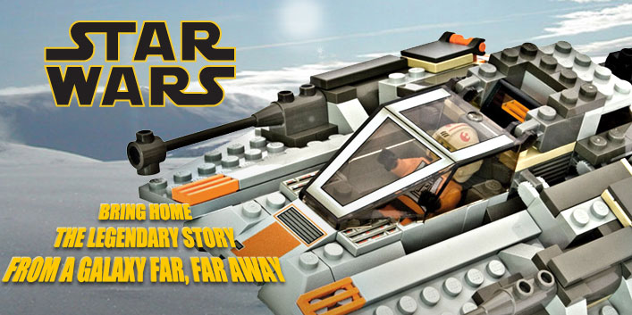 Bring home a Star Wars set today!
